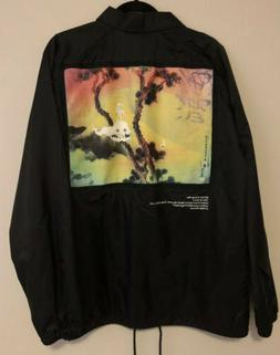 100% AUTHENTIC New KIDS SEE GHOSTS Coach Jacket SIZE L