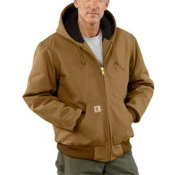 Carhartt 103940 Flannel-Lined Washed Duck Active J140 Jacket