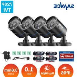 SANNCE 4x 1500TVL 720P CCTV Camera In/ Outdoor IR Security S