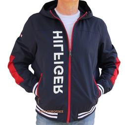 e524c6da TOMMY HILFIGER Men's Yacht Athletic Jacket WaterStop Windbre