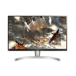 """LG 27UK650-W 27"""" 4K UHD IPS Monitor with HDR10 and AMD FreeS"""