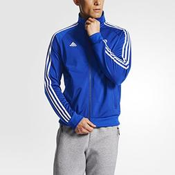 adidas 3S Tricot Track Jacket Collegiate Royal/White, Large