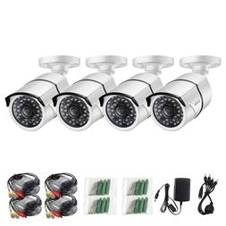 ZOSI 4X 1080P HD 4-in-1 100ft IR-Cut Security Surveillance C