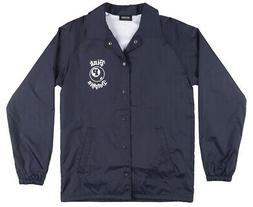 PINK DOLPHIN 8 BALL COACHES JACKET MENS NAVY WINDBREAKER STR