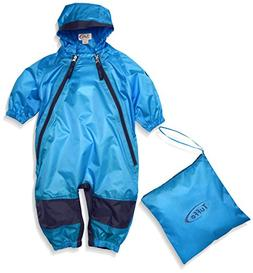 Tuffo Unisex-Baby Infant Muddy Buddy Coverall Blue 2T