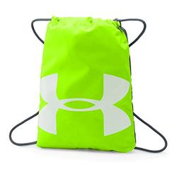 Under Armour Ozsee Sackpack, Hyper Green/Stealth Gray, One S