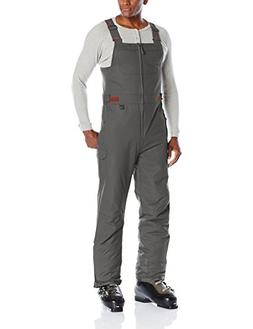 Arctix Men's Athletic Fit Avalanche Bib Overall, Charcoal, L