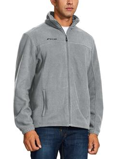 Baleaf Men's Outdoor Fleece Jacket Full Zip Thermal Winterwe