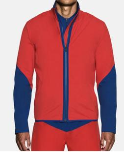 Under Armour Baywatch Storm 2 Men's Jacket Sz M Red/Blue 130