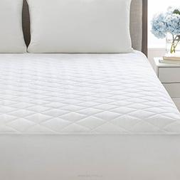Bed Mattress Pad Cover Queen Size White Protector Pillow Top