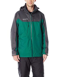 Columbia Men's Big Whirlibird Interchange Jacket, Mountain R