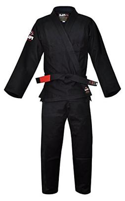Fuji BJJ Uniform, Black, A2