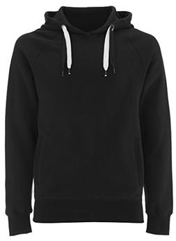 Black Pullover Hoodie for Women - Large- Womens Hooded Organ