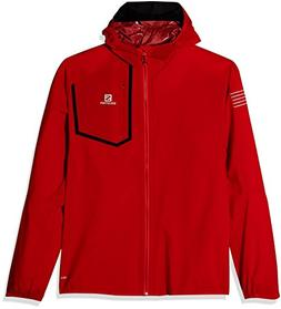 Salomon Bonatti Pro WP Jacket M, Fiery Red, Large