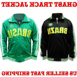 BRASIL Premier Mens Soccer Track Jacket WORLD CUP NEYMAR JR