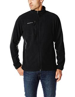 Columbia Men's Cascades Explorer Full Zip Fleece, Black, Lar