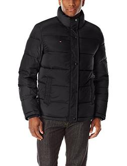 Tommy Hilfiger Men's Classic Puffer Jacket, Black, XX-Large