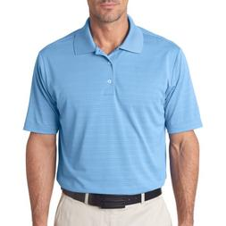 Adidas Men's ClimaLite Textured Solid Polo - Tide