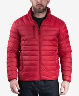 NEW Hawke and Co packable down jacket coat Medium Red $195 N