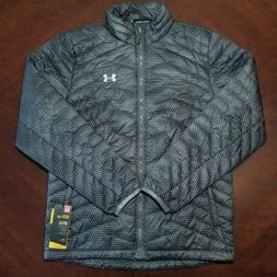 Under Armour ColdGear Reactor Graphite Gray Jacket Mens Size