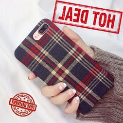 Colorful Fabric Cotton Polyester Quality Case Cover for iPho