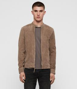 """ALLSAINTS """"Colt"""" Leather Jacket $500 IN STORE!!! NWT NEW Men"""