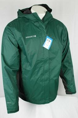 Columbia Men Timber Pointe II Omni Tech Rain Hooded Waterpro