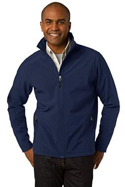 Port Authority Men's Core Soft Shell Jacket M Dress Blue Nav