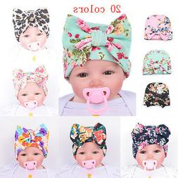 Cute Newborn Baby Infant Girl Toddler Comfy Bowknot Hospital