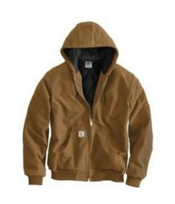 Carhartt Duck Active Mens Jacket - Brown - Size Large