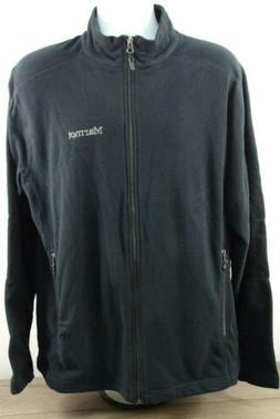 Marmot Ess Tech Full Zip Fleece Jacket - Black Large