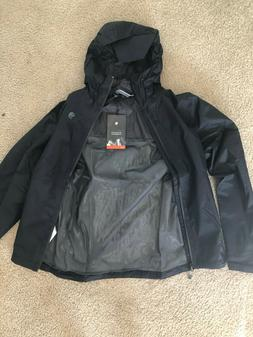 Mountain Hardwear Finder Jacket, Shark, Mens Small, NWT