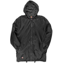 Dickies Fleece Lined Nylon Hooded Windbreaker Men's Zip Up J