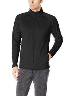 Champion Men's Performance Fleece Full-zip Jacket, Black/Bla