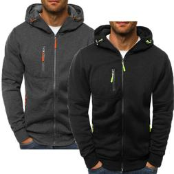 <font><b>Men's</b></font> Casual Hooded <font><b>Hoodie</b><