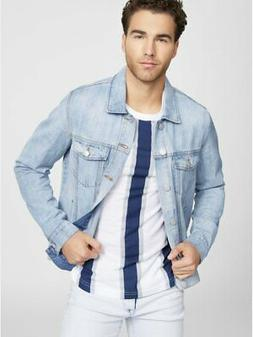 G By Guess Men's Draymond Denim Jacket
