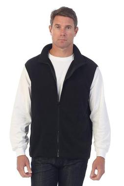 Gioberti Men'S Full Zipper Polar Fleece Vest