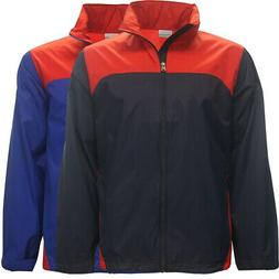 Columbia Golf Men's Glennaker Lake Waterproof Full-Zip Jacke