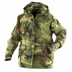 Gore-Tex® Men's US Military GI Woodland Camo Parka ECWCS Ja
