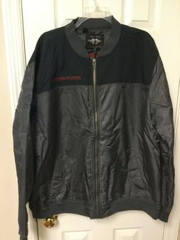 HARLEY-DAVIDSON MENS RIPSTOP ACCENT BOMBER JACKET SIZE 2XL O