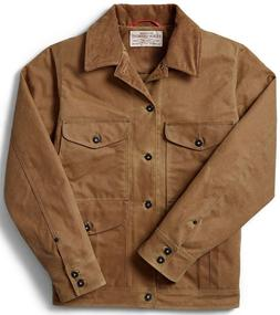 Filson Insulated Journeyman Jacket Dark Tan, Men's 2XL NWT M