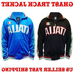 ITALIA Premier Mens Soccer Track Jacket WORLD CUP Football J