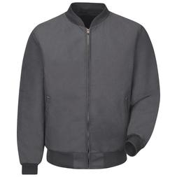 Red Kap Jacket Men's Solid Team, Charcoal, Small