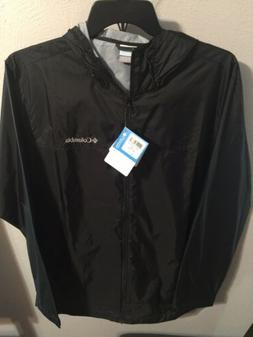 Columbia jacket mens gooseberry falls rain Jacket large blac