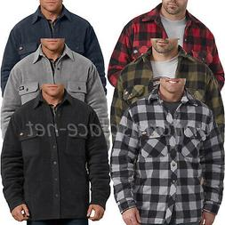 Dickies Jacket Mens Relaxed Fit Icon Micro Fleece Lined Quil