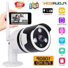 1080P Wireless WiFi IP Home Security Camera 1/2/4-Pack 2-Way