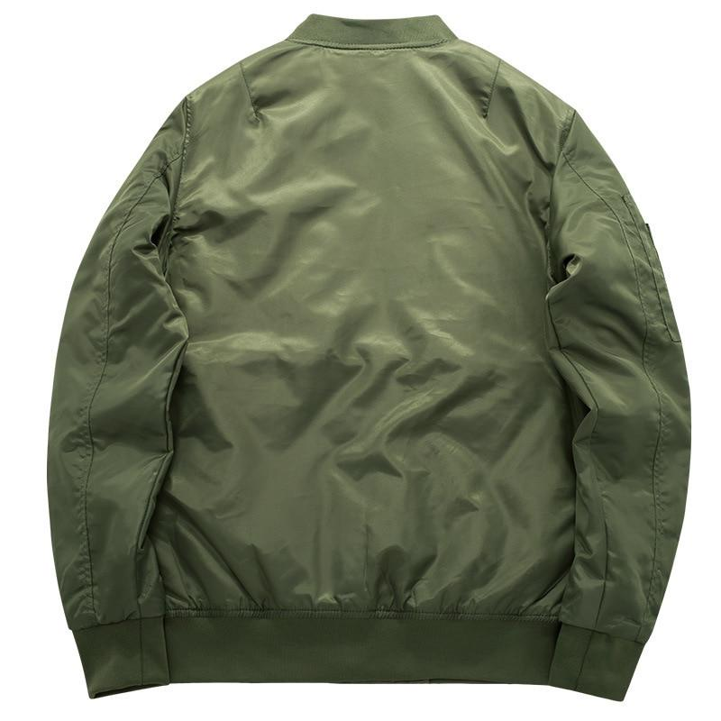 2019 High quality Thick Green Military motorcycle aviator <font><b>bomber</b></font>