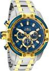 Invicta 25947 Men's Speedway Chrono Blue Dial Two Tone Steel