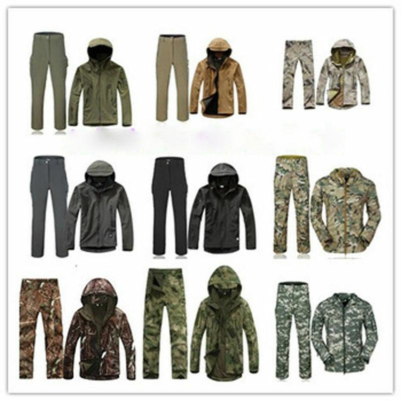2PCS New Outdoor Hunting Mens Jacket +pants