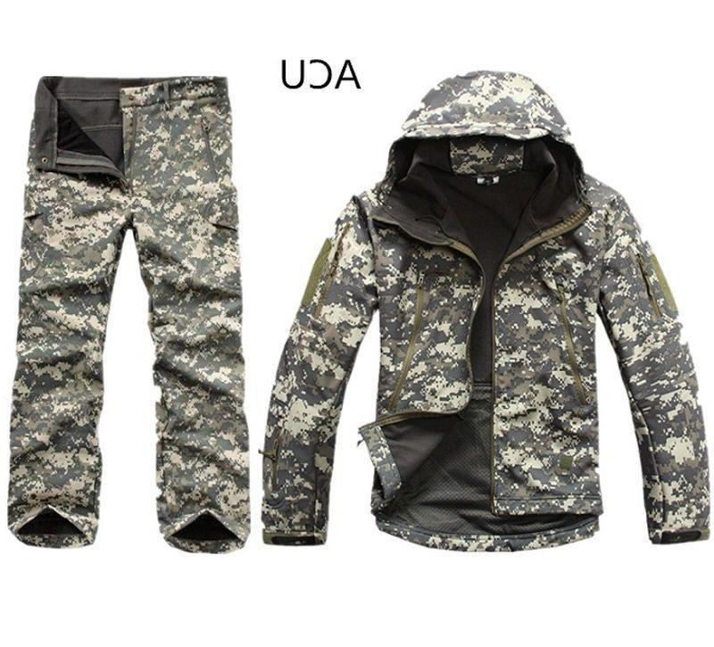 2PCS New Winter Hunting Mens Coat +pants